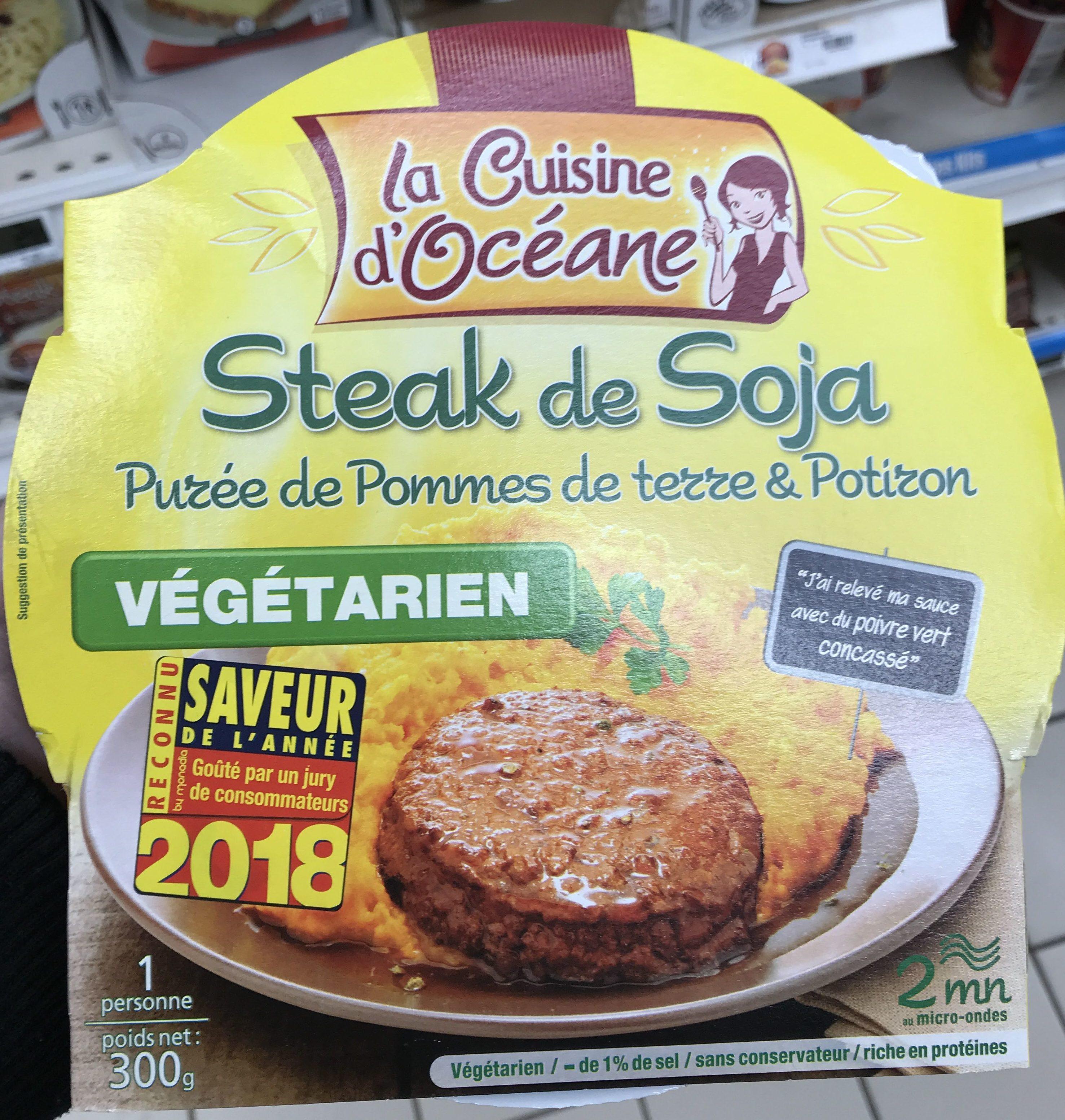 Steak de Soja - Product - fr