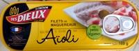 Filets de maquereaux Aïoli - Produit