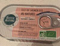 Filet de saumon bio au naturel - Produit - fr