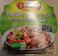 Poulet à la Mexicaine & Duo de Quinoa - Produit - fr