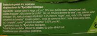 Poulet à la Mexicaine & Duo de Quinoa - Ingrédients - fr
