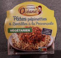 Pâtes pépinettes et lentilles à la provençale - Product - fr