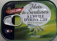Filets de sardines à l'huile d'olive - Product - fr