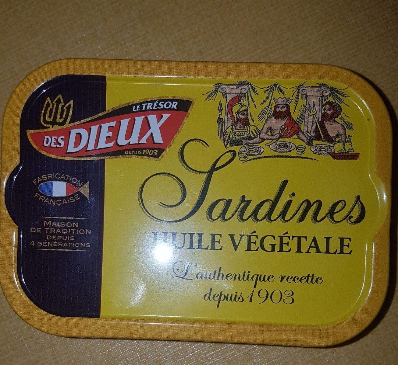 Sardines Huile Végétale - Product - fr
