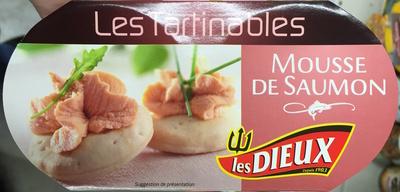 Les Tartinables (Mousse de Saumon) - Produit - fr