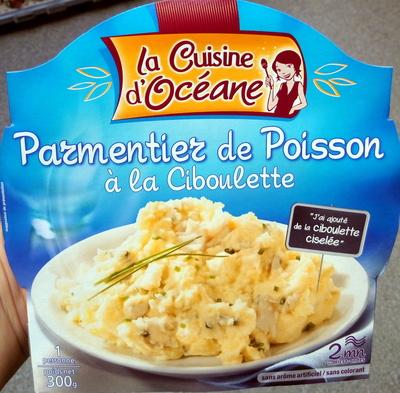 Parmentier de Poisson à la Ciboulette - Produit - fr