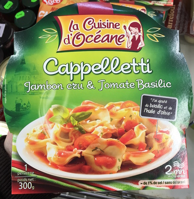 Cappelletti Jambon cru & Tomate basilic - Produit - fr