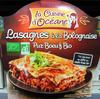 Lasagnes à la Bolognaise (Pur Bœuf) Bio - Product