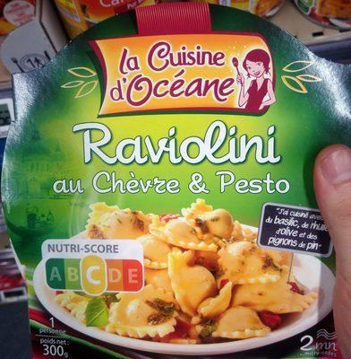 Raviolini au Chèvre & Pesto - Product - fr