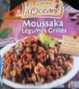 Moussaka et Légumes Grillés - Produit