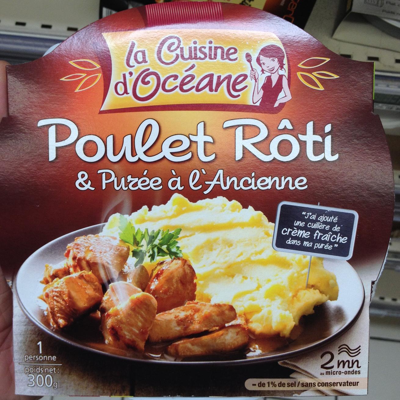 Poulet rôti & purée à l'ancienne - Produit - fr