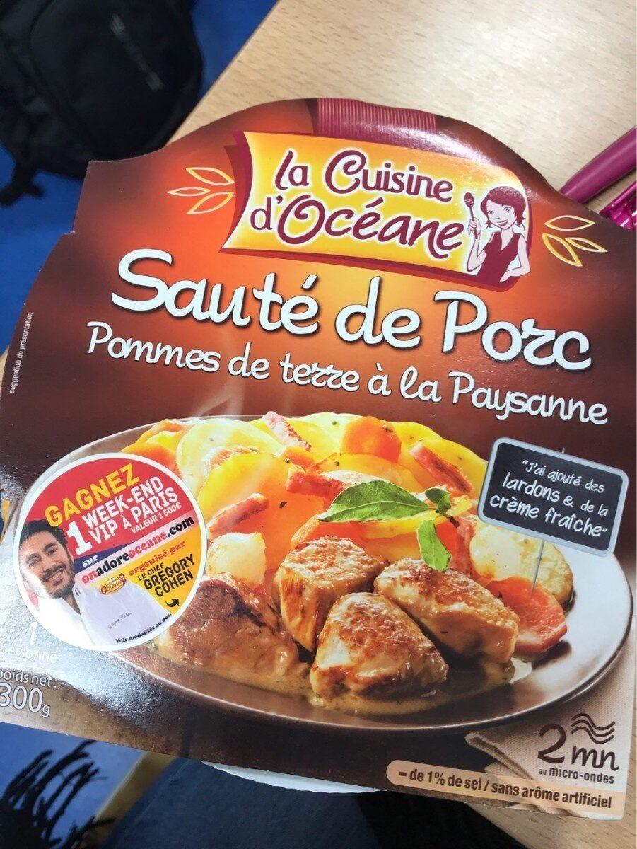 Sauté  de Porc et Pommes de Terre à la Paysanne - Produit - fr