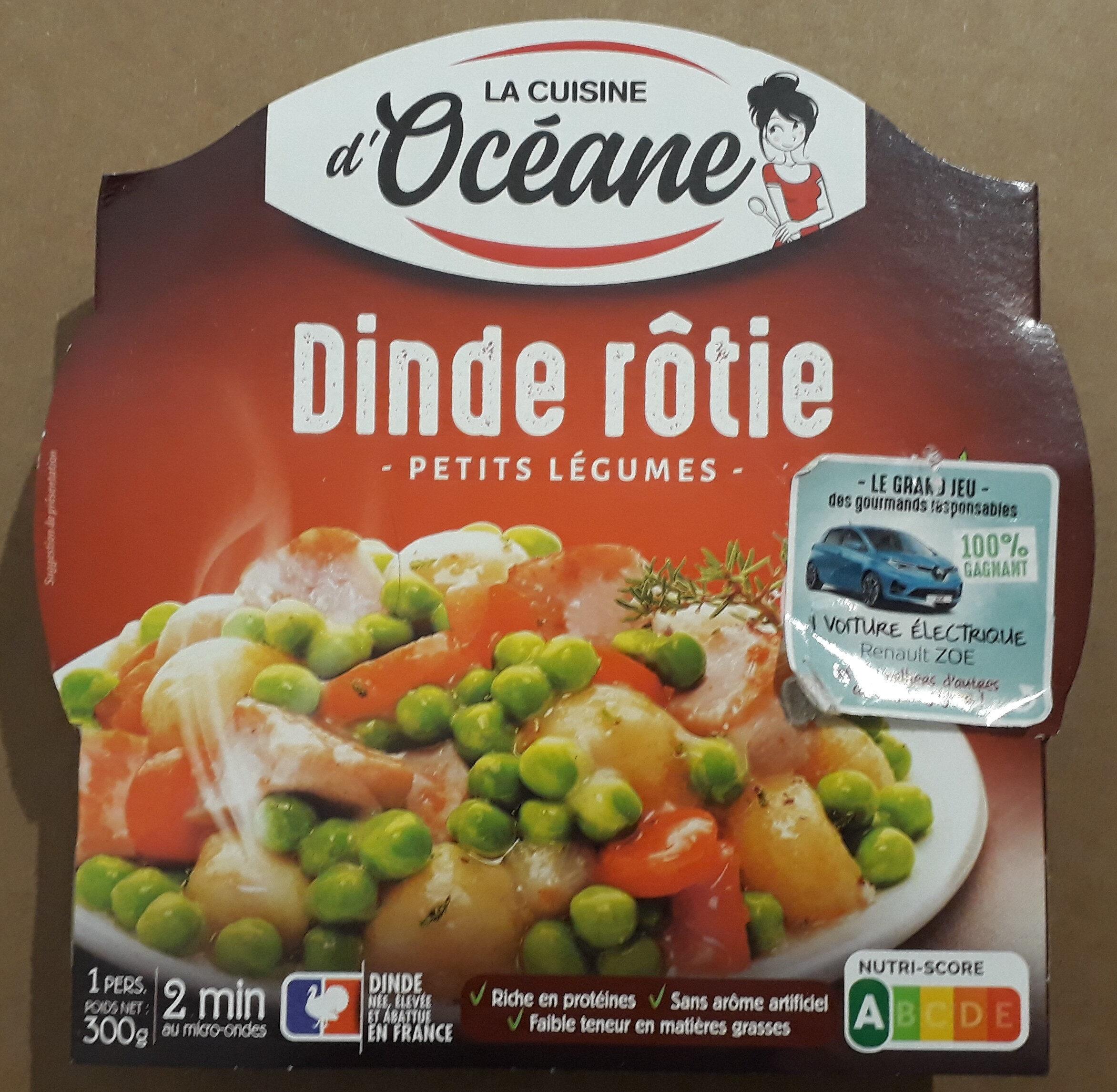 Dinde fermière & 5 légumes printaniers - Produit - fr