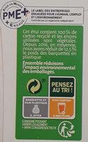 Dinde fermière & 5 légumes printaniers - Instruction de recyclage et/ou information d'emballage - fr