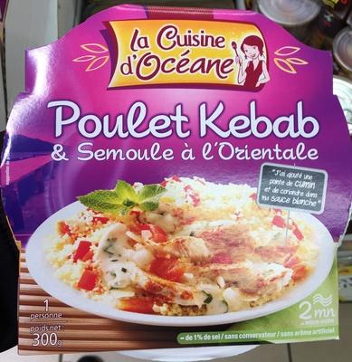 Poulet Kebab & Semoule à l'Orientale - Produit - fr