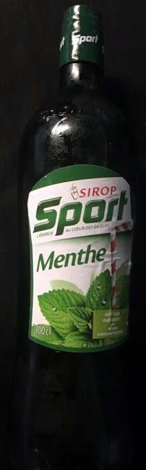 Sirop de menthe - Product - fr