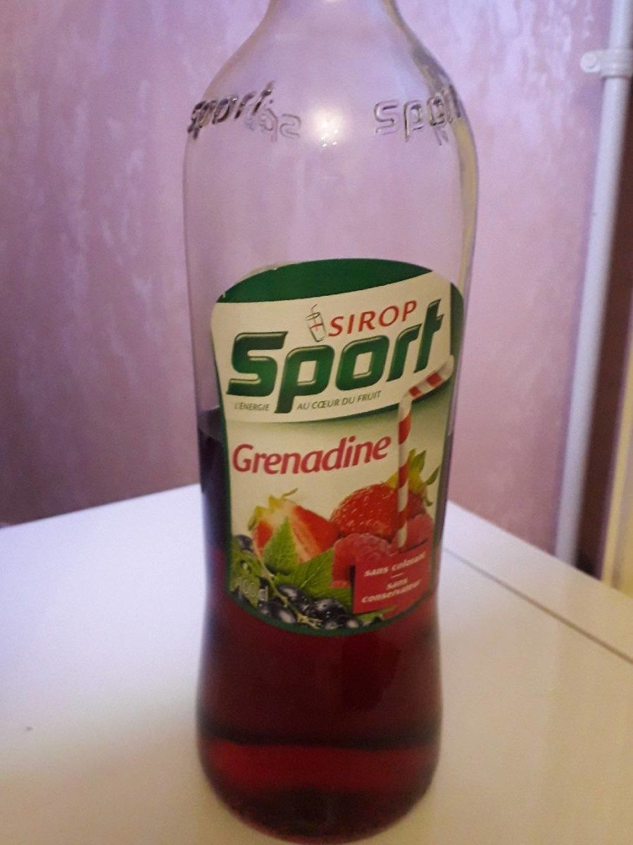 Sirop Grenadine - Product - fr