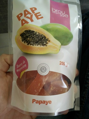 Papaye - Produit