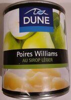 Poire williams au sirop léger - Produit - fr