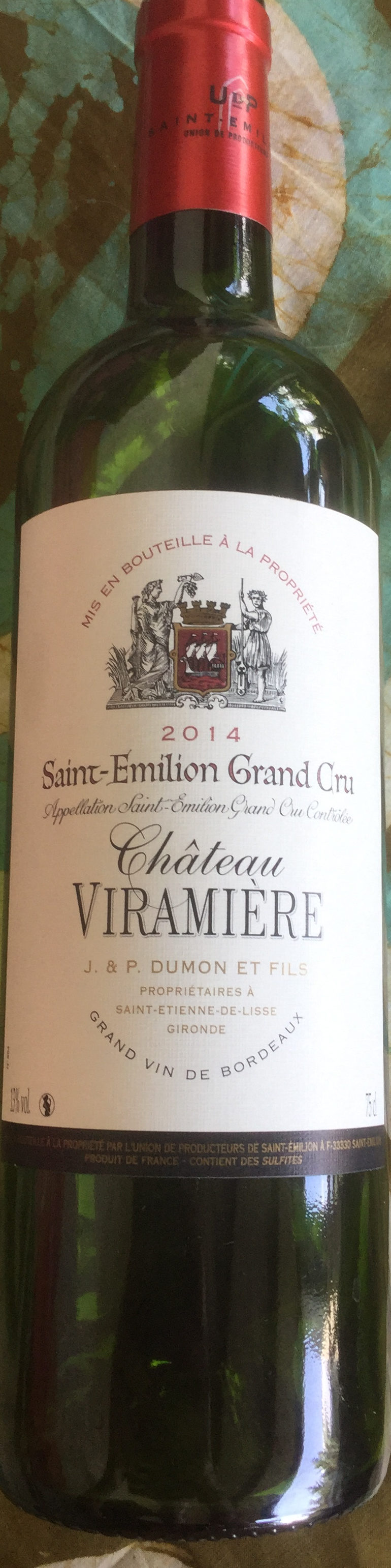 Saint-Emilion Grand Cru 2014 - Product - fr