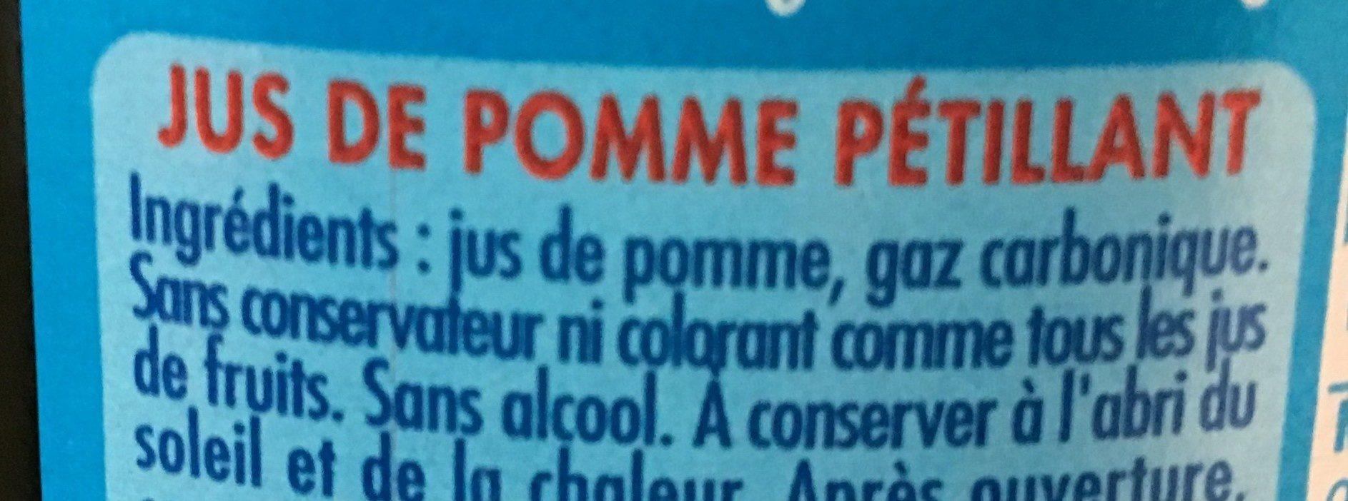 Champomy - Ingrediënten - fr