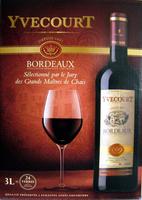 Vin Bordeaux rouge Yvecourt - Product