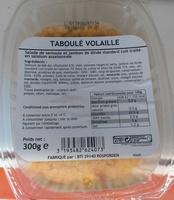 Taboulé volaille - Produit - fr