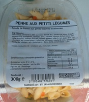 Penne aux petits légumes - Produit - fr