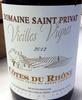 Vieilles vignes 2012 - Product