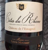 vin rouge côte du Rhône - Produit - fr