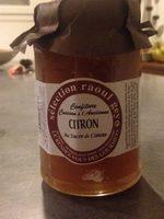 Confiture citron cuisson à l'ancienne - Produit
