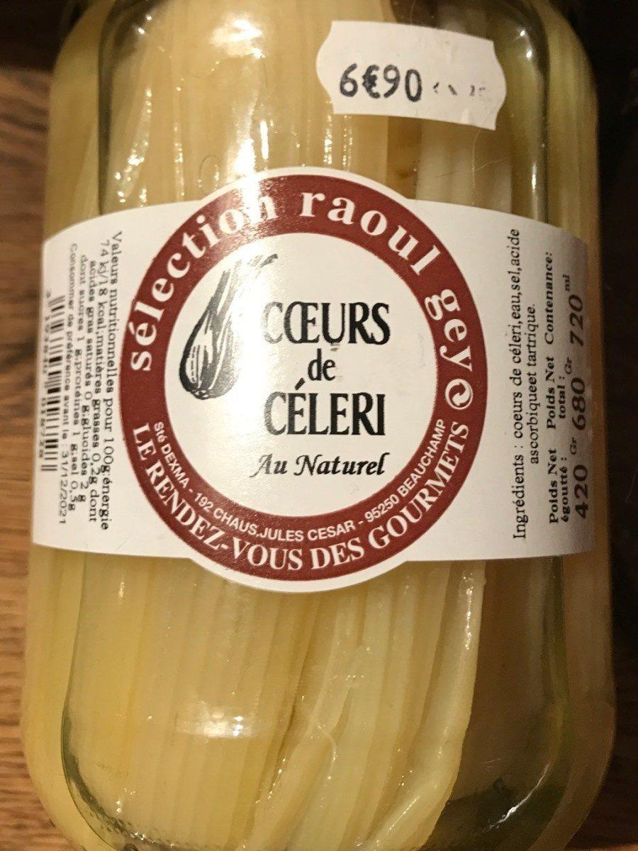 Coeurs de celeri - Produit - fr
