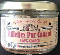 Rillettes pur canard - Produit - fr