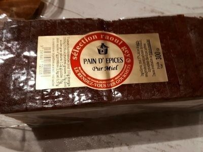 Pain d épice pur miel - Product - fr