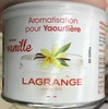 Aromatisation pour yaourtière arôme vanille - Product