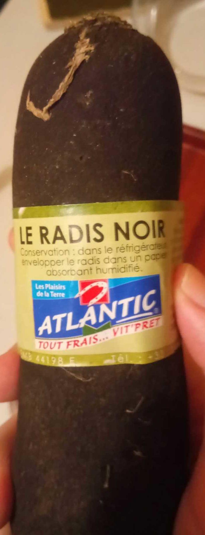 Le radis noir - Produit - fr