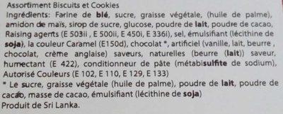 Tea Time Biscuit Assortiment - Ingrédients - fr