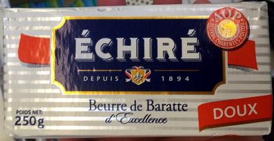 Echire, beurre de baratte - Product