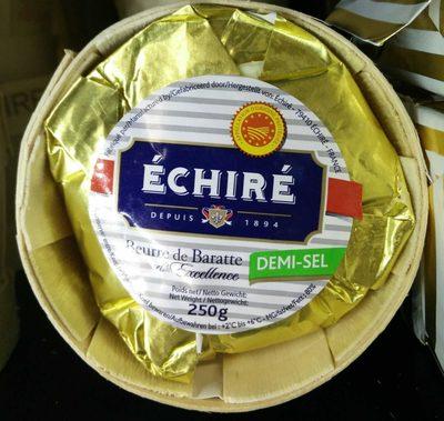 Beurre de Baratte d'Excellence Demi-Sel AOP - Produit - en
