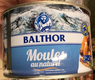 Moules au naturel - Product
