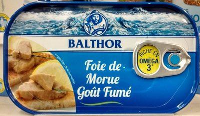 Foie de Morue Goût Fumé - Produit