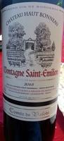 Montagne Saint-Emilion 2013 - Produit - fr