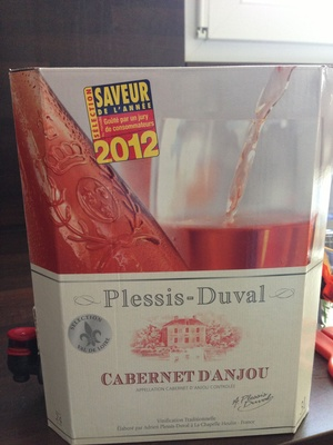Rosé Cabernet d'Anjou - Product - en