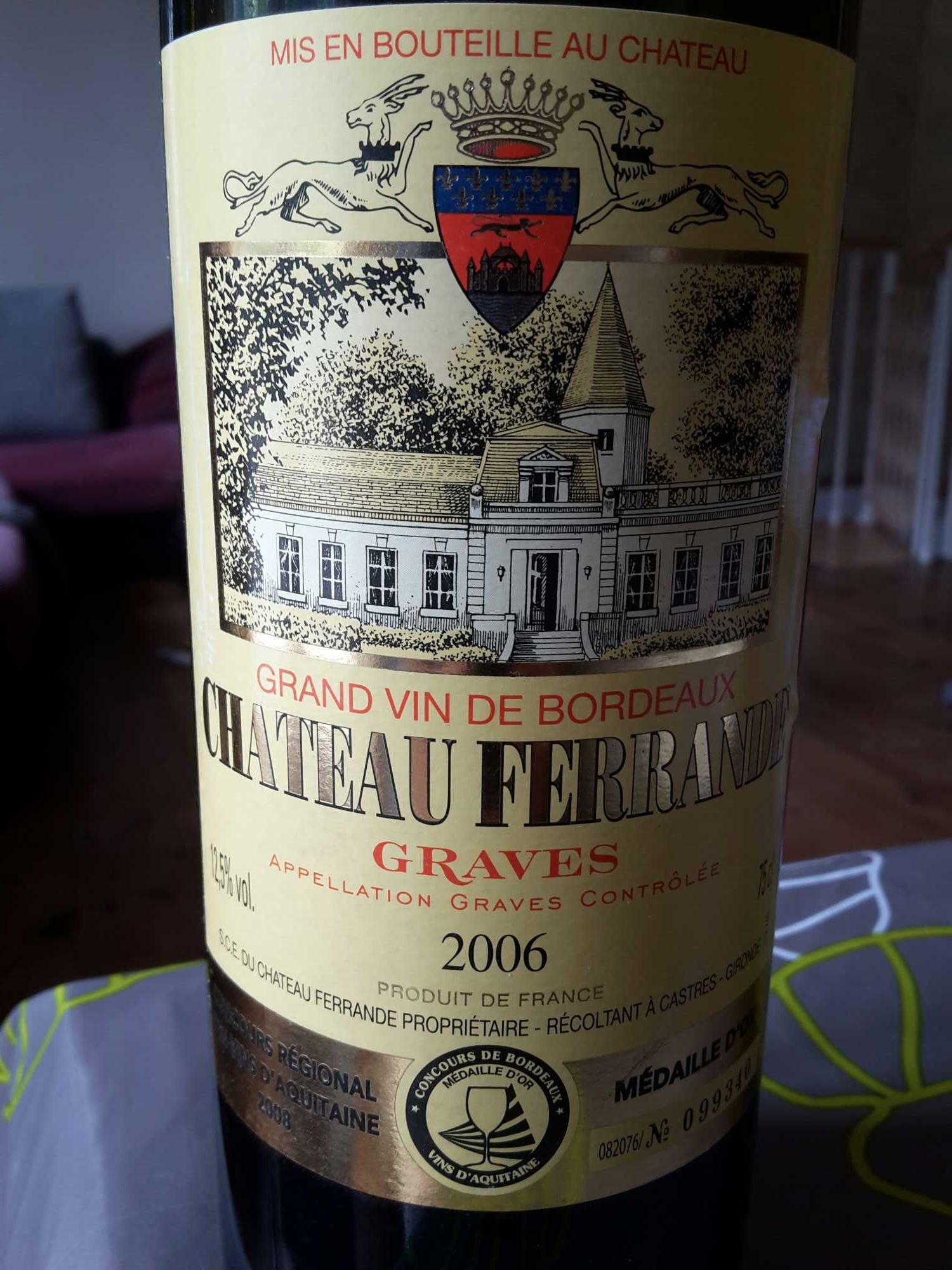 chateau ferrande - Product