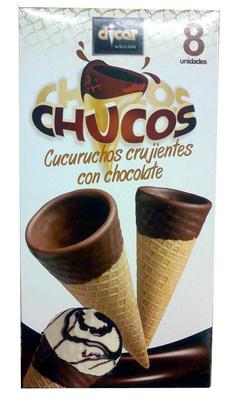 Chucos cucuruchos crujientes con chocolate - Producto