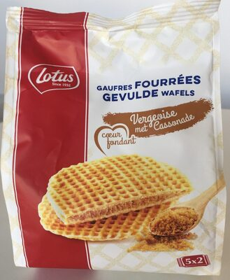 Gaufres vergeoise - Product