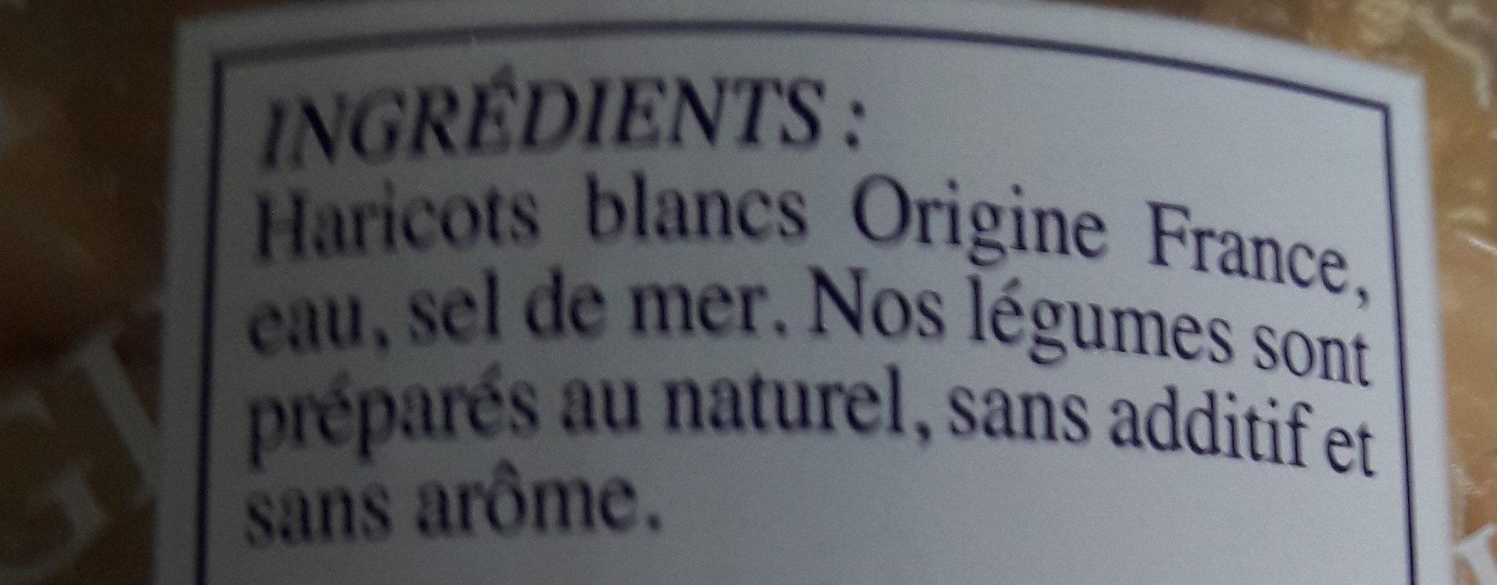 "Haricots blancs ""Mogettes"" - Ingrédients - fr"