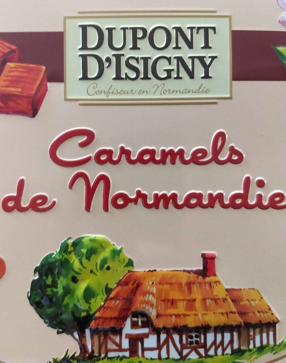 240G Boite Assortiment Caramel Dupont D'isigny - Product - fr