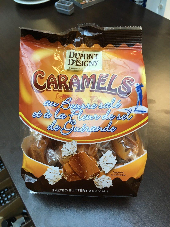 Caramels au beurre salé et à la fleur de sel de guérande - Product
