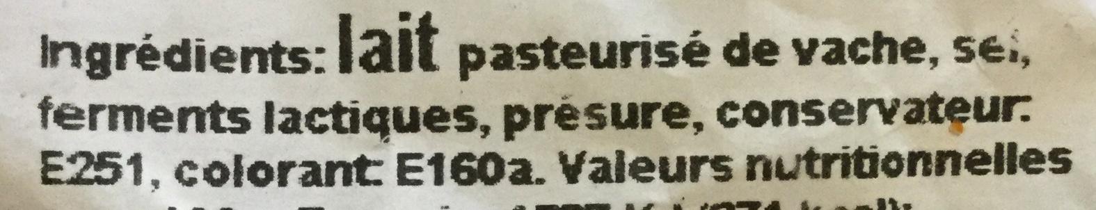 Gouda Holland jeune - Ingrediënten - fr